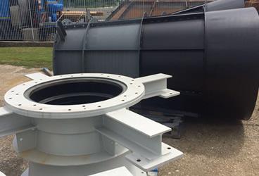 Lucense - in costruzione - componenti turbina