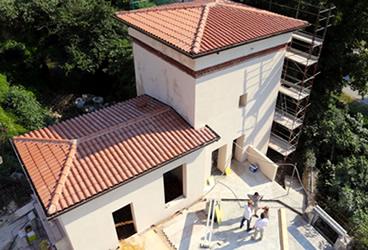 Lucense - in costruzione - foto aerea